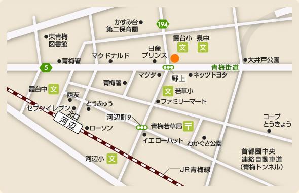 地図:武尾歯科